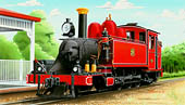 9A  NA-Class Tank Locomotive   Copyright Locomotive Art & PayTel    Click for larger image