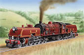 Beyer Garratt  Click to Visit the Locomotive Art Gallery