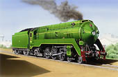 C38 Pacific  Click to Visit the Locomotive Art Gallery